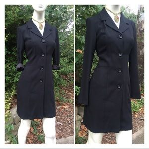 90's Alyn Paige Button Down Dress or Long Jacket